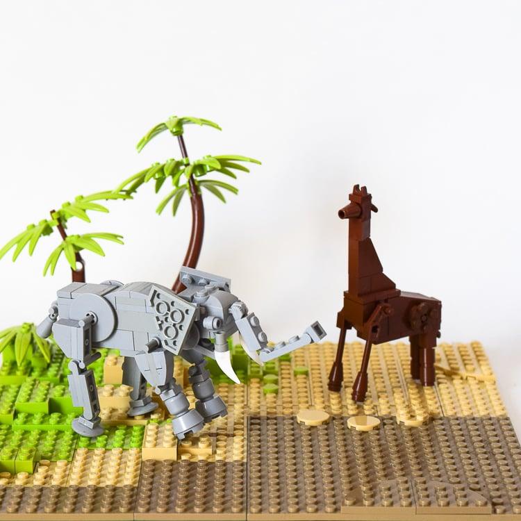 LEGO Habitats: Grasslands