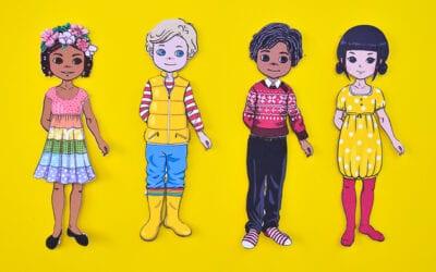 Diverse Paper Dolls