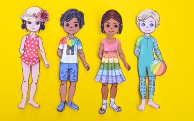 Free Printable Summer Paper Dolls