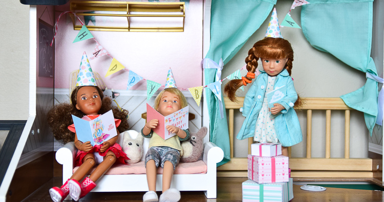 Free Printable Dollhouse Birthday Pack