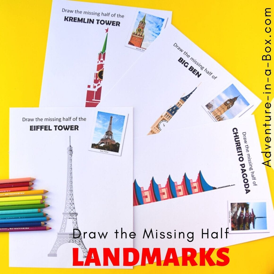 Draw the Missing Half Landmarks