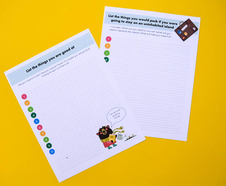 Make a List Writing Prompt