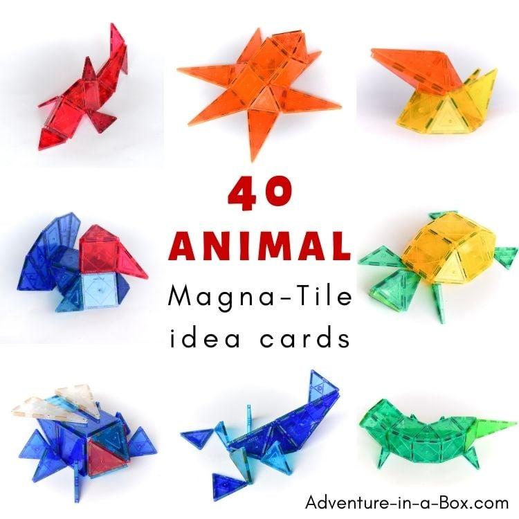 Animal Magna Tile Ideas