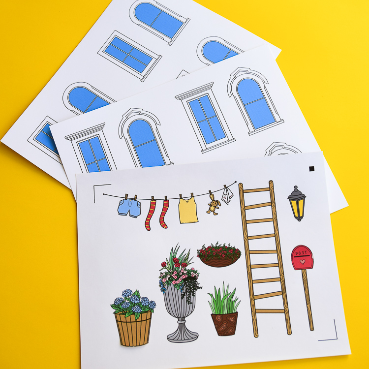 Free Printable Dollhouse Templates