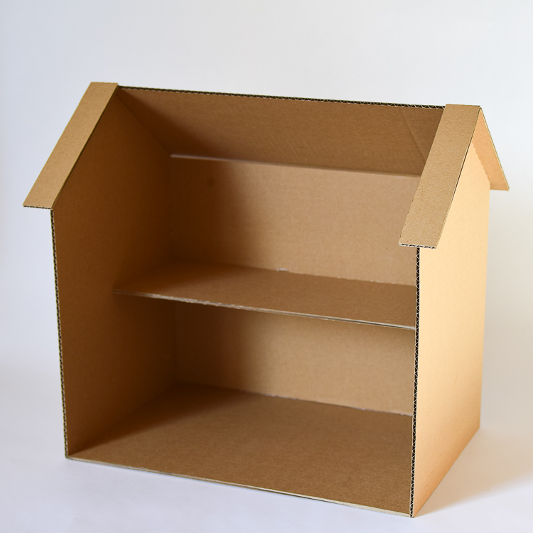 How to Build a Cardboard Dollhouse