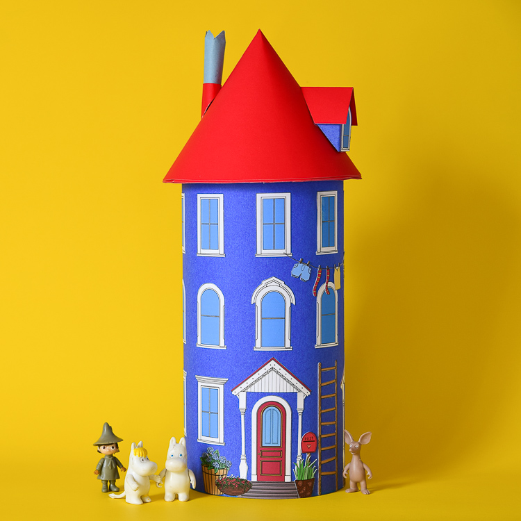 Free Printable Moomin House