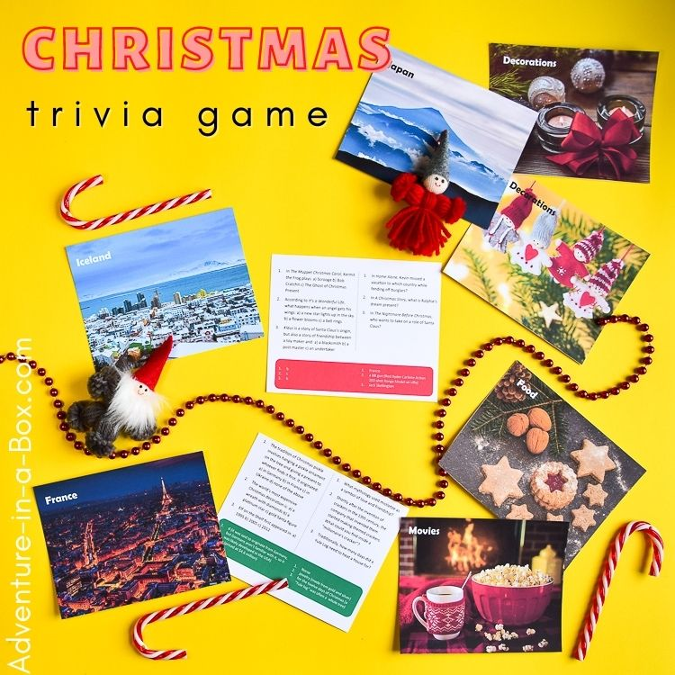 Printable Christmas trivia for kids