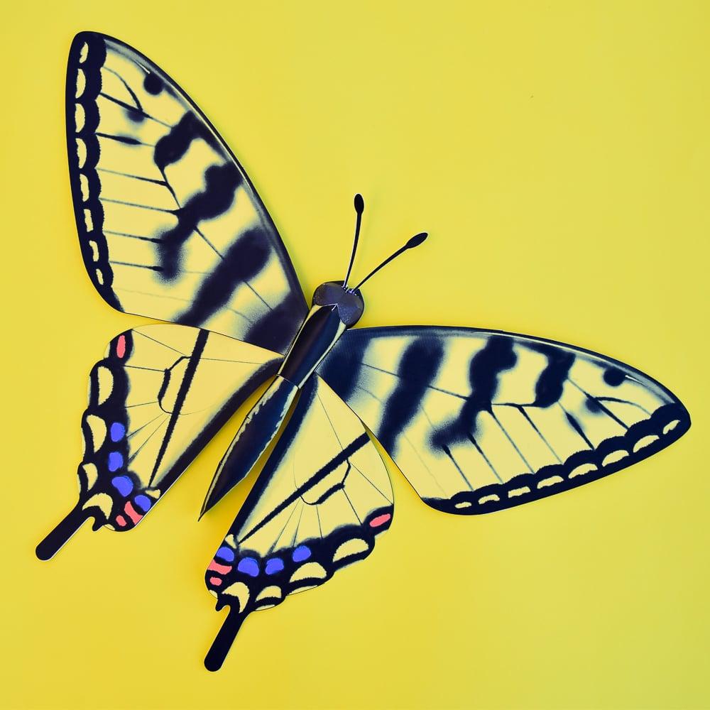3D Paper Butterfly Model