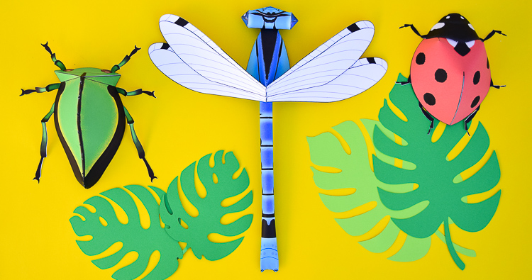 How to Make Paper Insects