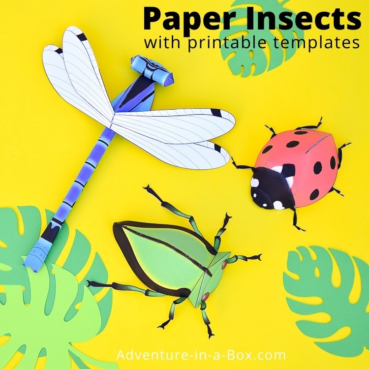 Printable Insects