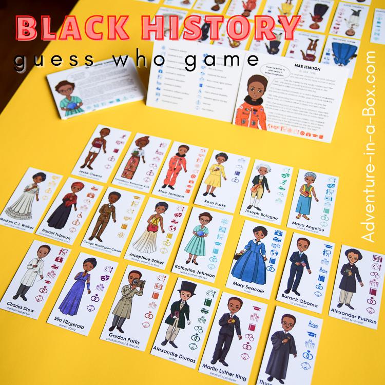 Black History game for kids