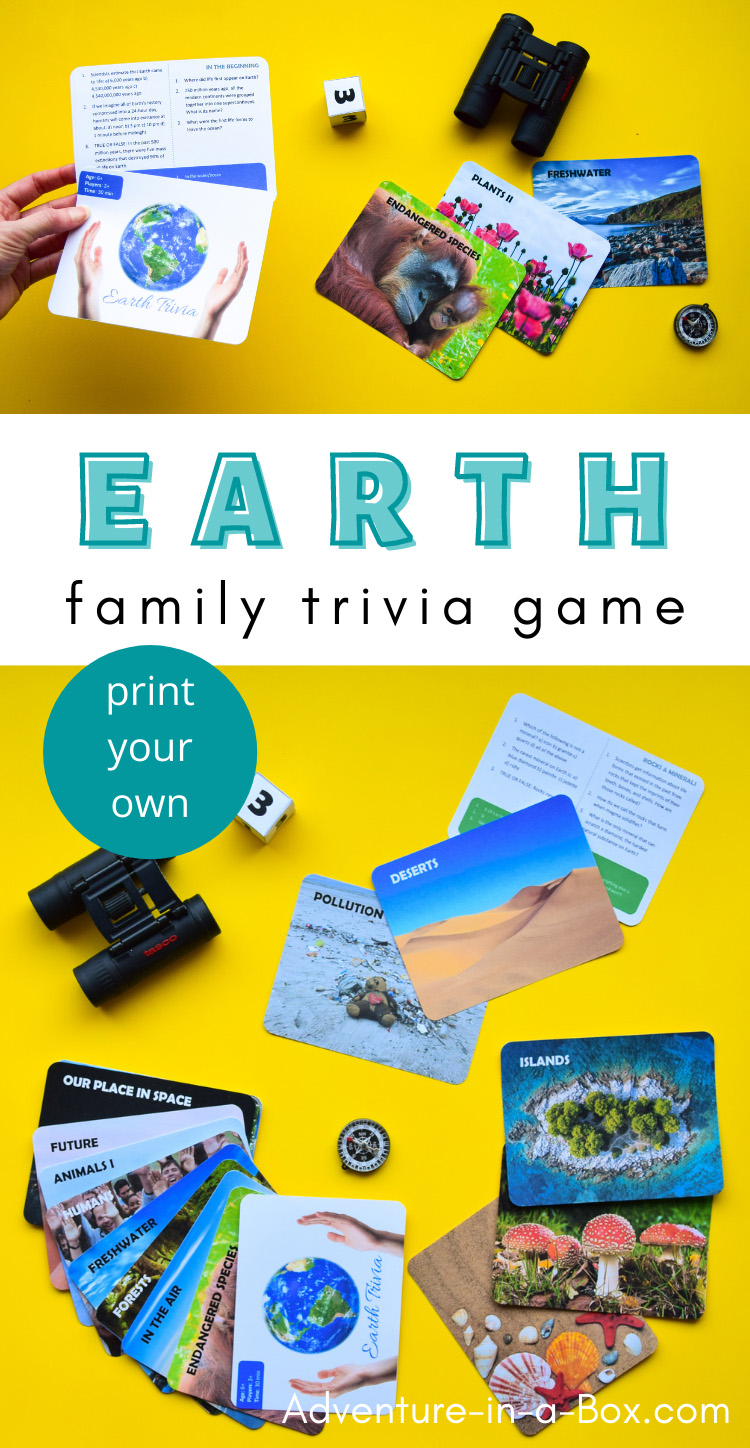 Earth trivia questions for kids