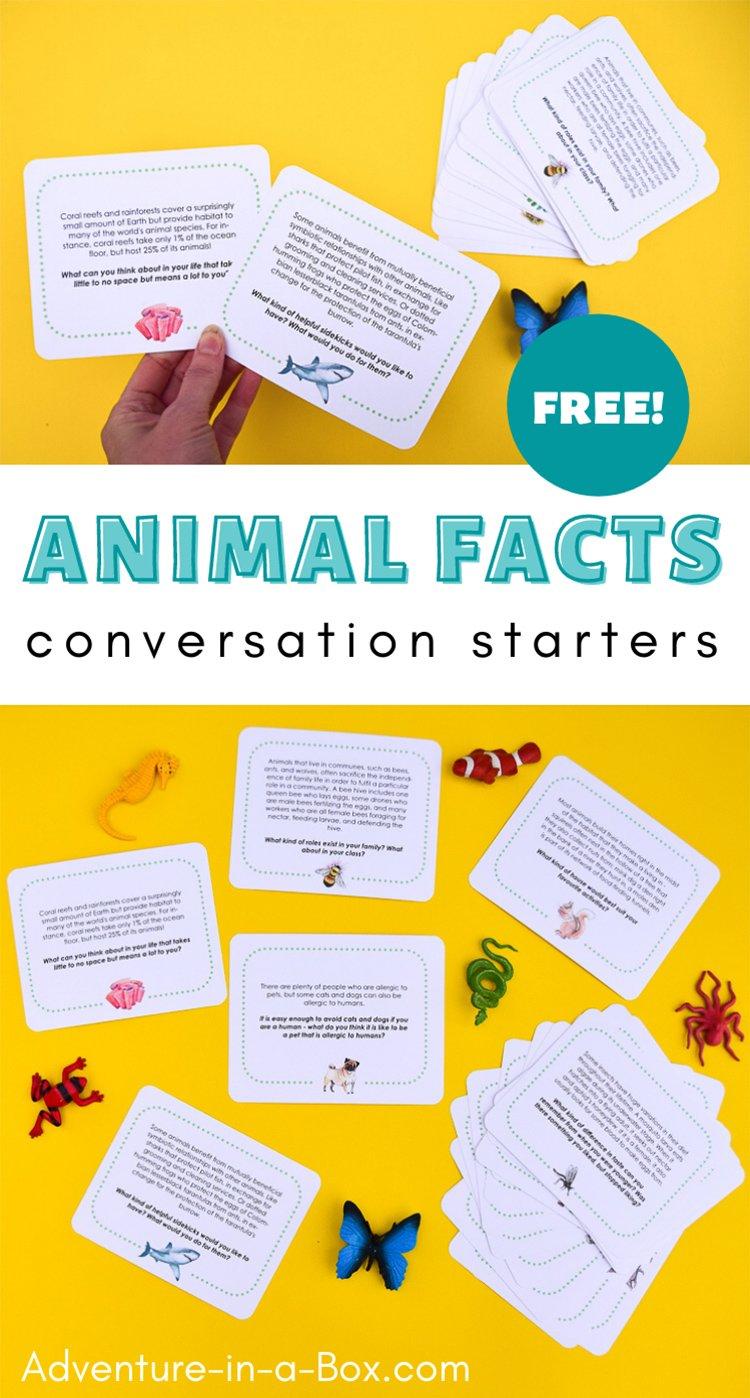 Animal Facts Conversation Starters